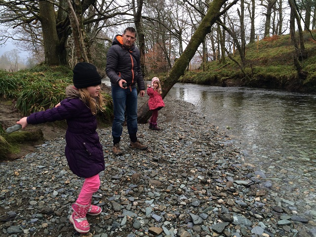 Skimming Stones by River Cottage