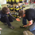 Need boots? Try Tiso's shoe fitting service.