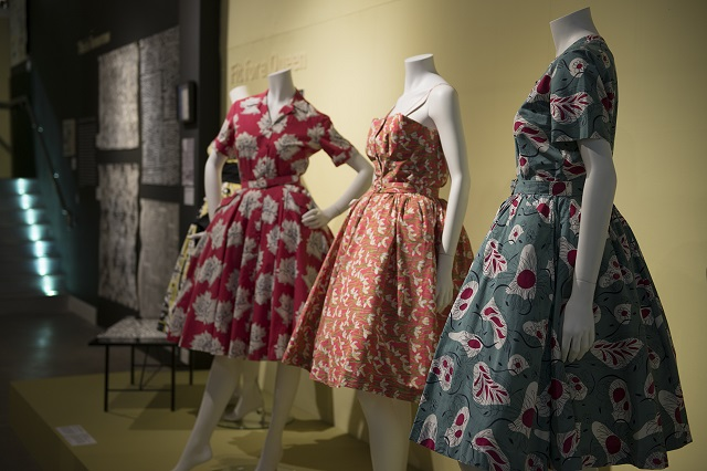 Fit for a Queen - dresses designed by Graham Sutherland & Alastair Morton in 1946 for Horrockses Crewdson & Company