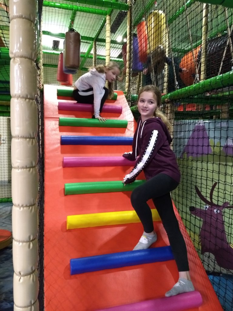Junior Zone, Scrambles soft play